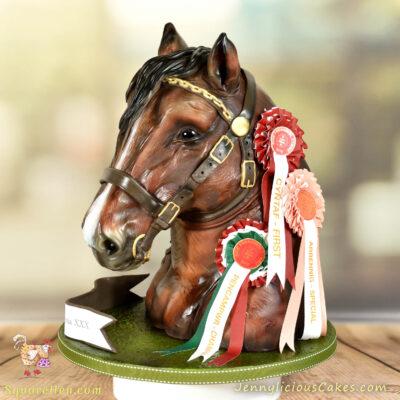 Stallion Cake