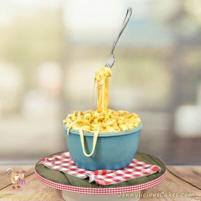 Cheese Pasta Cake