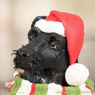Christmas Ralphie Dog