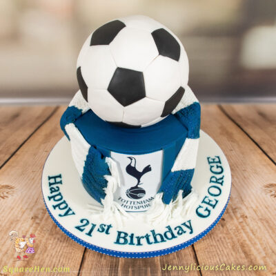 Spurs Cake