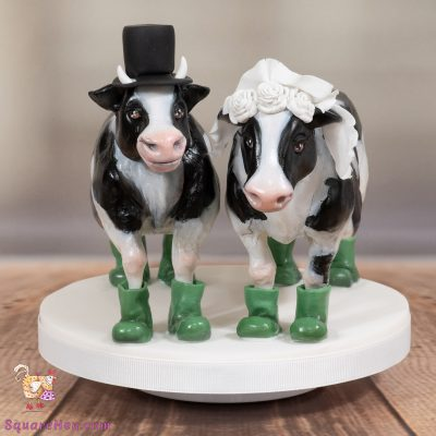 Two Cows Topper