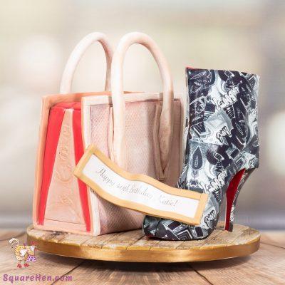 Handbag and shoes