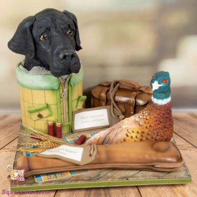 Gundog & Pheasant showstopper